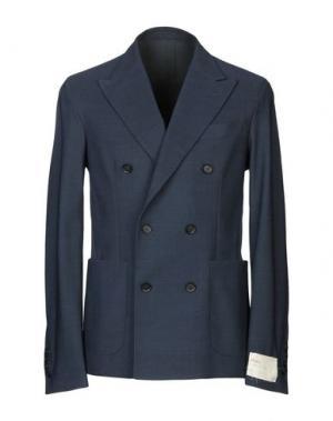 Пиджак TRAIANO. Цвет: темно-синий