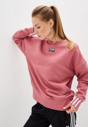 Свитшот adidas Originals VOCAL SWEAT. Цвет: розовый