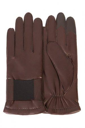 Перчатки Michel Katana. Цвет: шоколадный