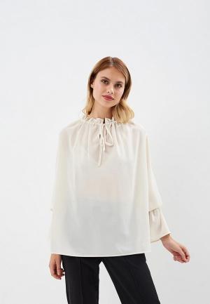 Блуза AlexandraKazakova. Цвет: бежевый