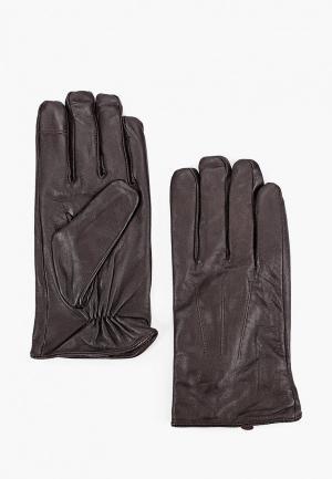 Перчатки Burton Menswear London. Цвет: коричневый