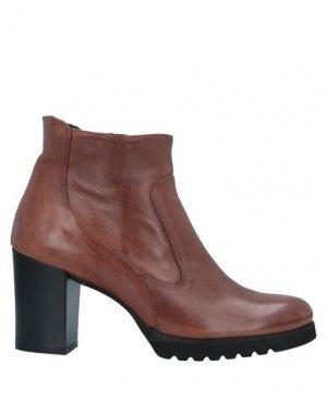 Полусапоги и высокие ботинки ELEGANCE. Цвет: желто-коричневый