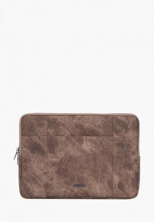 Чехол для ноутбука Rivacase. Цвет: коричневый