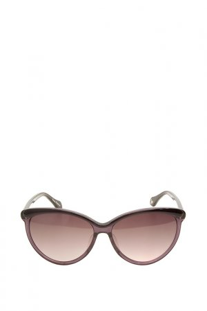 Очки солнцезащитные с линзами Vivienne Westwood. Цвет: 01 черный, фиолетовый