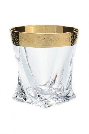 Набор стаканов 340 мл Bohemia. Цвет: золотой, прозрачный