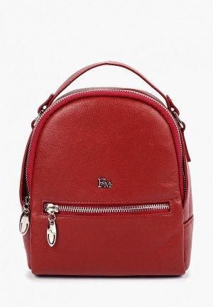 Рюкзак Franchesco Mariscotti. Цвет: красный