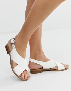 Белые сандалии с перекрестом Josh-Белый Faith