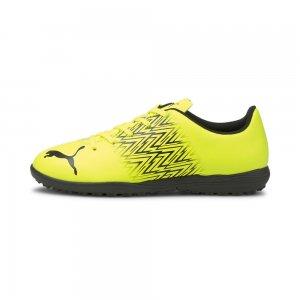 Детские бутсы TACTO TT Youth Football Boots PUMA. Цвет: желтый