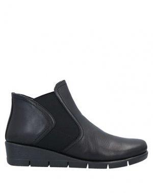 Полусапоги и высокие ботинки THE FLEXX. Цвет: черный