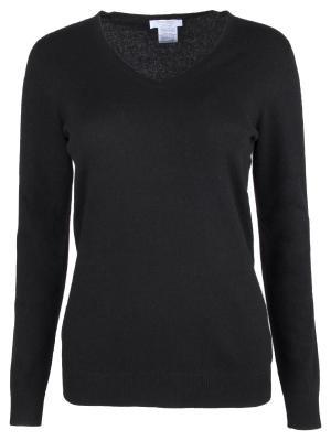 Кашемировый пуловер Gran Sasso. Цвет: черный