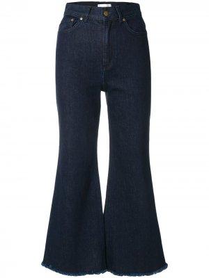 Укороченные джинсы Zimmermann. Цвет: синий