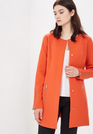 Пальто Jacqueline de Yong. Цвет: оранжевый