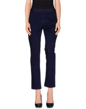 Повседневные брюки BAND OF OUTSIDERS. Цвет: темно-синий