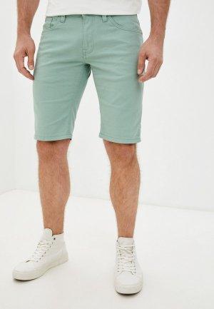 Шорты Indicode Jeans. Цвет: бирюзовый