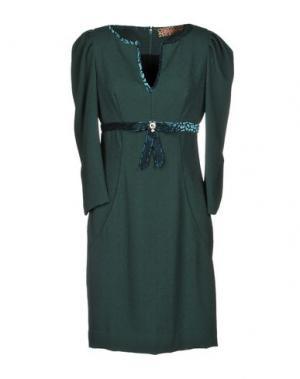 Короткое платье 22 MAGGIO by MARIA GRAZIA SEVERI. Цвет: темно-зеленый