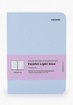 Блокнот Falafel. Цвет: голубой
