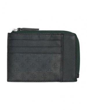 Бумажник JOHN RICHMOND. Цвет: темно-зеленый