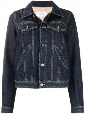 Джинсовая куртка с логотипом Givenchy. Цвет: синий