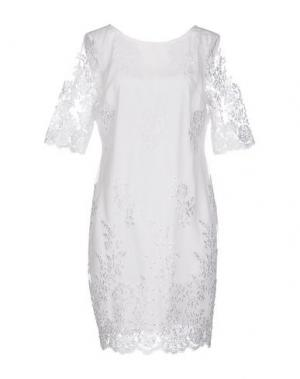 Короткое платье DARLING London. Цвет: белый