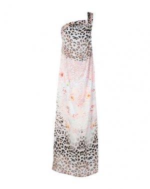 Длинное платье JOLIE CARLO PIGNATELLI. Цвет: бежевый