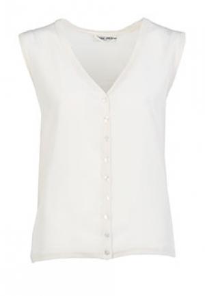 Блуза MAX&MOI. Цвет: белый