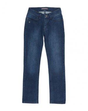 Джинсовые брюки PAULINE B.. Цвет: синий