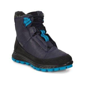 Ботинки высокие EXOSTRIKE KIDS ECCO. Цвет: синий
