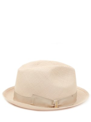 Соломенная шляпа BORSALINO