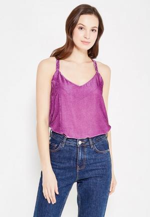 Топ Sacks Sack's. Цвет: фиолетовый
