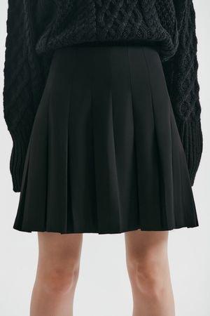 Мини-юбка со складками LOVE REPUBLIC