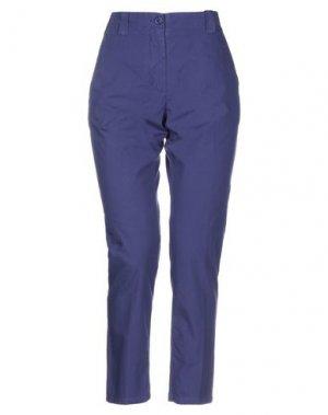 Повседневные брюки ATTIC AND BARN. Цвет: темно-синий