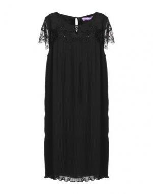 Короткое платье 22 MAGGIO by MARIA GRAZIA SEVERI. Цвет: черный
