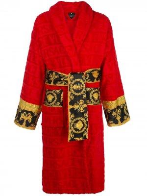 Халат I ♡ Baroque Versace. Цвет: красный