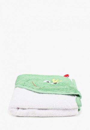 Полотенце Эго. Цвет: зеленый