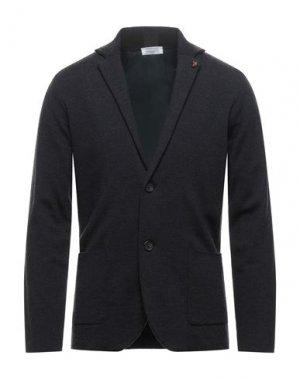 Пиджак HERITAGE. Цвет: стальной серый