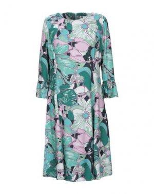 Короткое платье BINI Como. Цвет: светло-зеленый